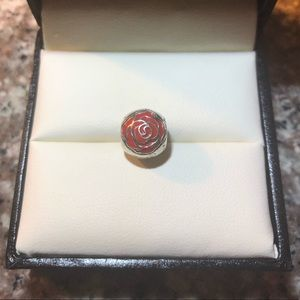 Belle's Enchanted Rose Charm